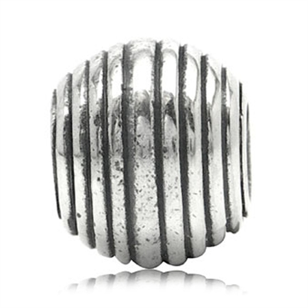 925 Sterling Silver Threaded European Charm Bead