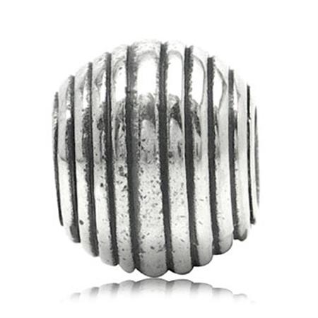 925 Sterling Silver Threaded European Charm Bead