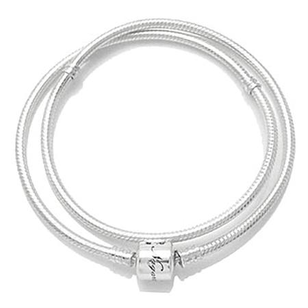 AUTH Nagara Sterling Silver Snap Chain fits Pandora Chamilia 16 inches