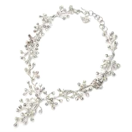 Handmade Cultured Pearl 925 Sterling Silver Designer Pendant / Necklace