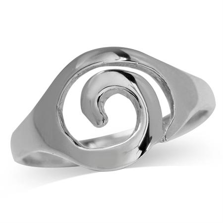 925 Sterling Silver SPIRAL Ring