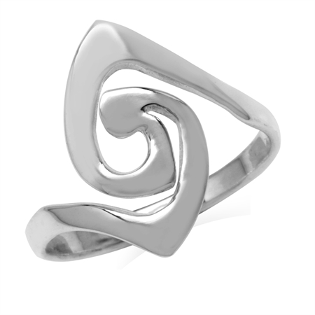 925 Sterling Silver Trendy Fashion Ring
