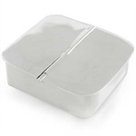 Square Sterling Silver Pill Box