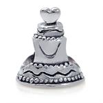 925 Sterling Silver WEDDING CAKE E...