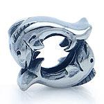 925 Sterling Silver ZODIAC PISCES European Charm Bead (Fits Pandora Chamilia)