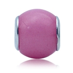 Pink Murano Glass 925 Sterling Sil...