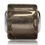 Smoky Murano Lampwork Glass 925 St...