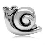 925 Sterling Silver Happy Snail Eu...