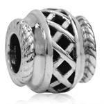 925 Sterling Silver Filigree Weave...