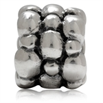 925 Sterling Silver Bead Ball Euro...