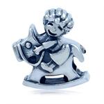 925 Sterling Silver BABY & ROCKING...