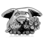 925 Sterling Silver Happy Dog Pet ...