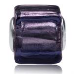 Violet Purple Murano Lampwork Glas...