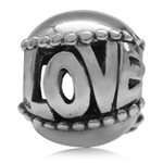 Filigree LOVE Ball 925 Sterling Si...