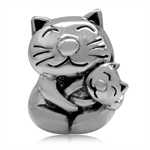 925 Sterling Silver MOTHER & BABY ...