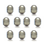 SET of 10 Imitation Golden Pearl 9...