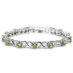 3.6ct. Natural Peridot 925 Sterlin...