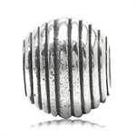 925 Sterling Silver Threaded Europ...
