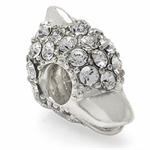 AUTH Nagara DOLPHIN White Crystal ...
