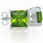 Peridot Green CZ 925 Sterling Silv...