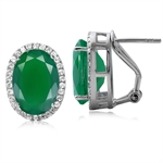 10.34ct. Classic Emerald Green Aga...