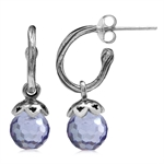 Lavender Faceted CZ Sphere Ball 92...