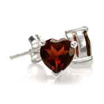 1.6ct. Natural Heart Shape Garnet ...