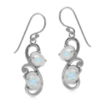 Natural 5.4 Ctw Rainbow Moonstone ...