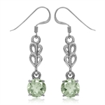 3.4ct. Natural Green Amethyst Whit...