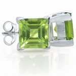 2.46ct. Natural Peridot 925 Sterli...
