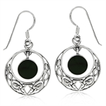 Dangle Created Black Onyx 925 Ster...