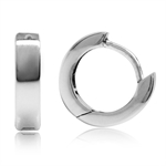 10MM*3MM 925 Sterling Silver Huggie/Hoop Earrings