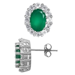 1.32ct. Emerald Green Agate&Topaz ...