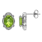 Natural 4 Ctw Green Peridot Victor...