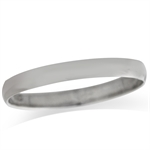 3MM 925 Sterling Silver Wedding Band Men&#39s Ring