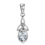 Genuine White Topaz 925 Sterling S...