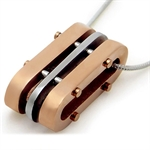 Copper Tone 316L Stainless Steel MODERN Pendant