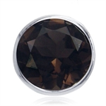 1.74ct. Natural Smoky Quartz 925 S...