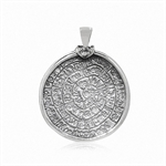 EGYPTIAN CALENDAR 925 Sterling Sil...