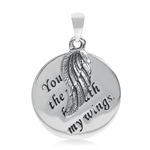 925 Sterling Silver YOU ARE THE WI...