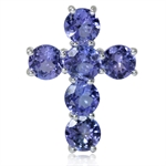 2.94ct. Genuine Tanzanite 925 Ster...