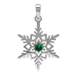 Nano Green Emerald 925 Sterling Si...