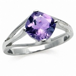 1.28ct. Natural February Birthston...