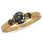 Mystic Fire Topaz 14K Gold Plated ...