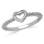 Petite White Gold Plated 925 Sterl...