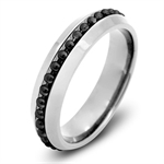 Two-Tone 316L Stainless Steel Blac...