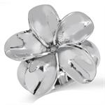 925 Sterling Silver PLUMERIA/FLOWE...