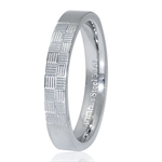 4MM Wide Pattern Stainless Steel B...