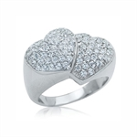 CZ White Gold Plate 925 Sterling S...