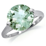 5.01ct. Natural Green Amethyst 925...